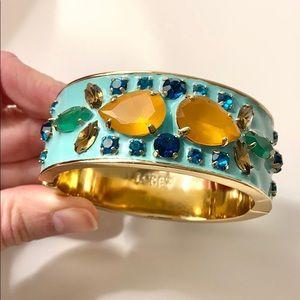J. Crew Blue Enamel Bracelet